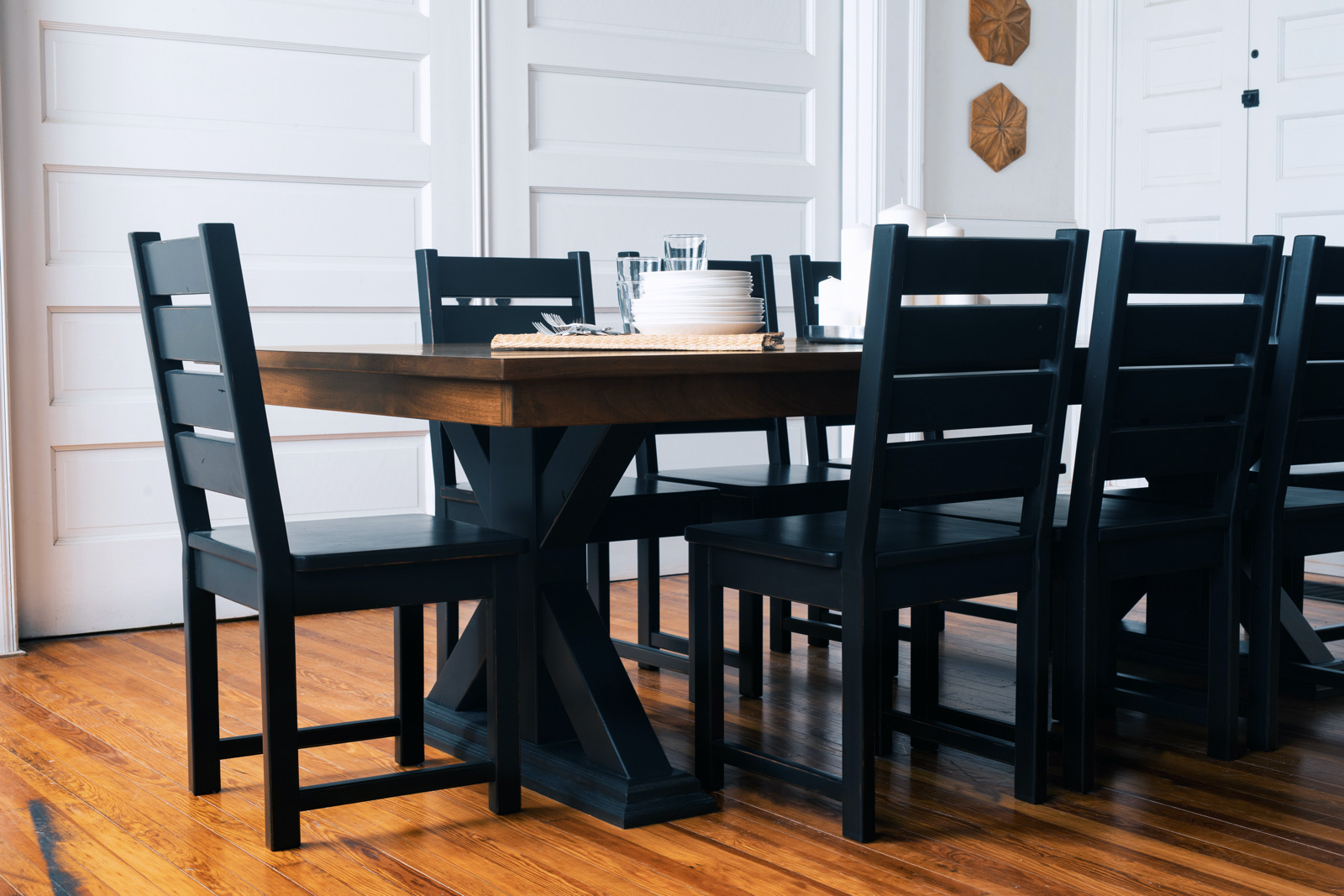 Belmont Pedestal Base Table, Pedestal Dining Room Tables And Chairs