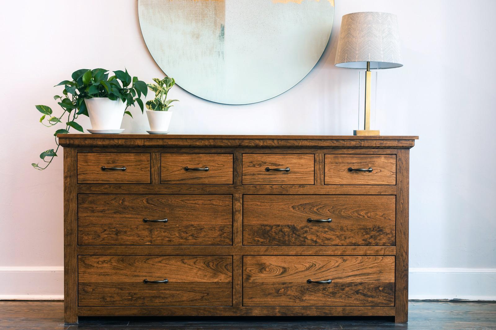 Augustine Dresser / Hardwood Bedroom Furniture / Unruh Furniture /