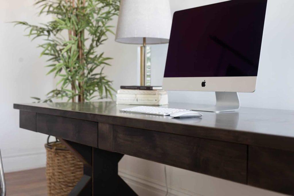 Custom Belmont Desk for home office