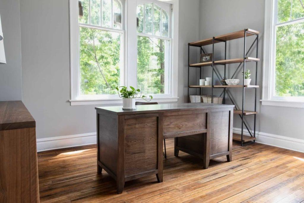 Custom Briar Desk for Dallas home office