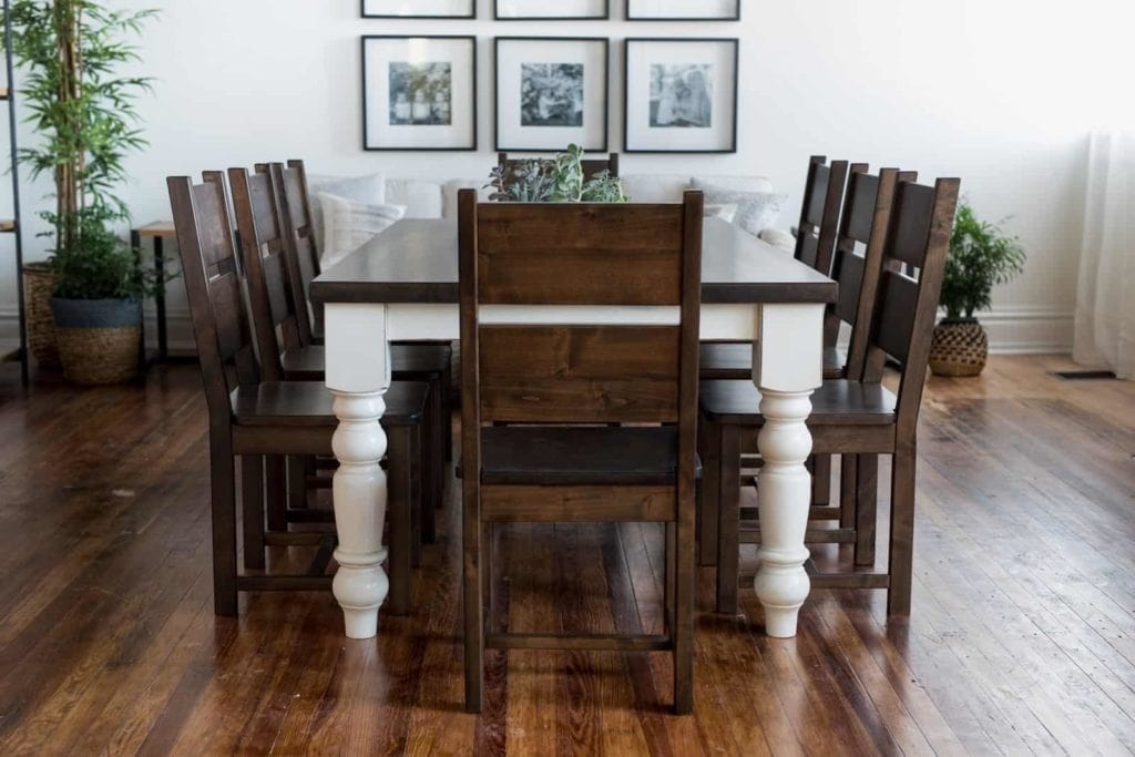 Fallbrooke Chairs and dining table