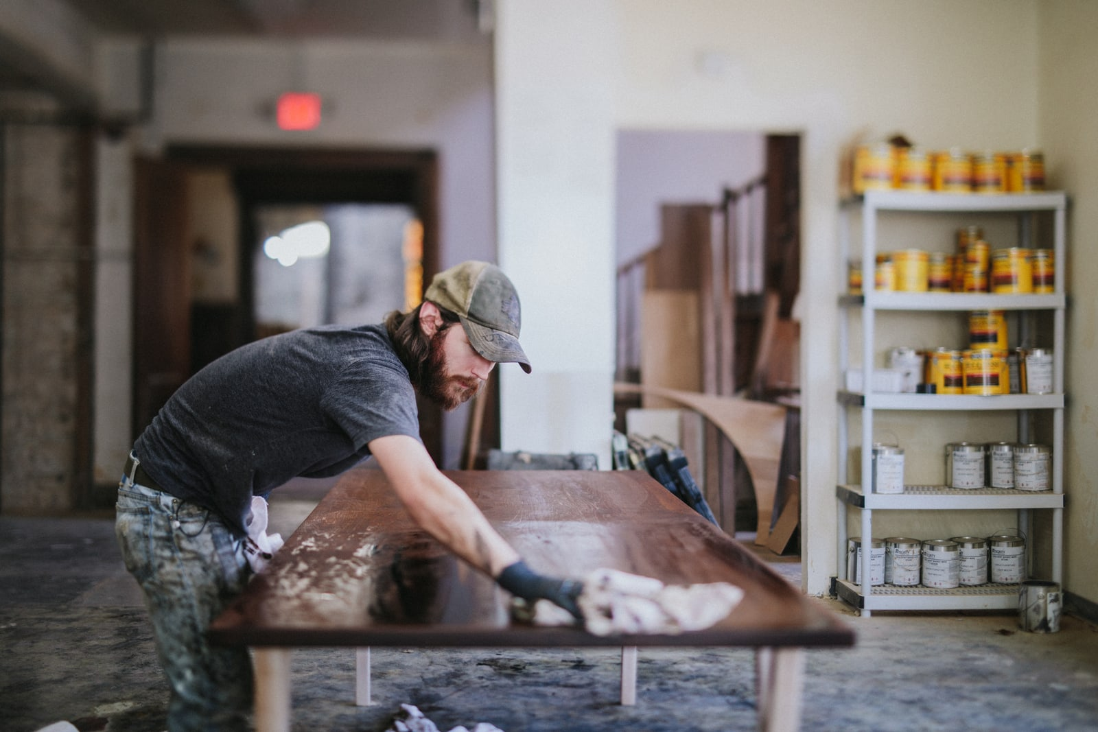 Unruh woodworkers make custom pieces