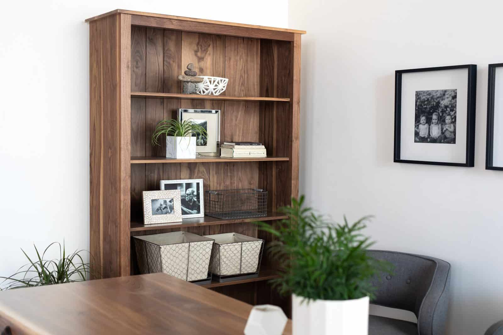 The Carolina Bookcase for a home library
