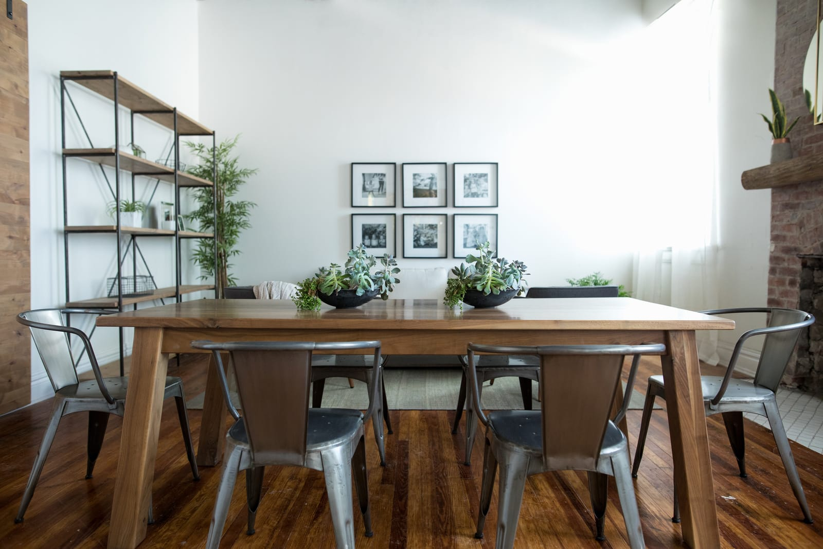 Unruh's custom Bakers Field Table for dining room