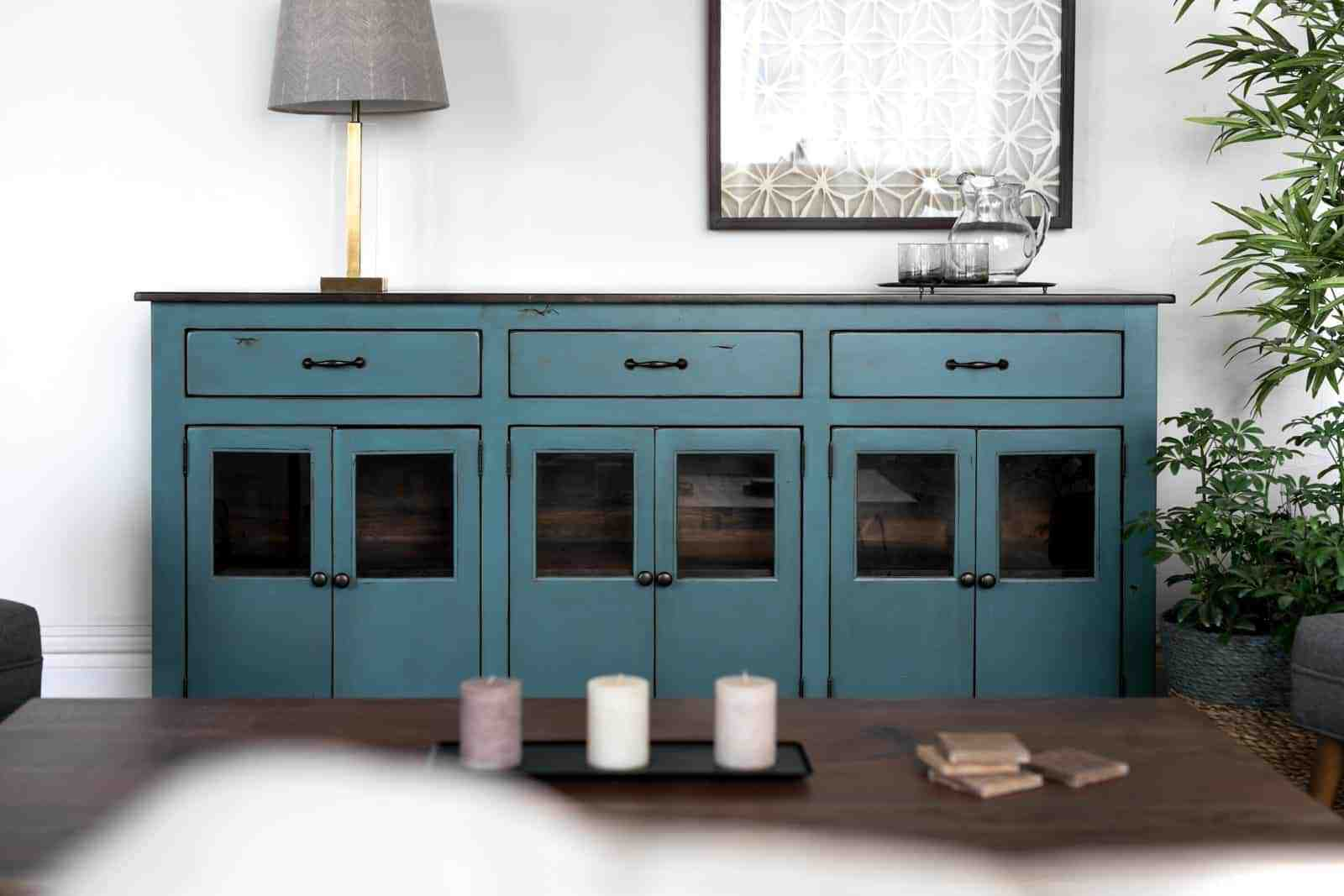 Unruh's sturdy Pacifica Sideboard complements any space