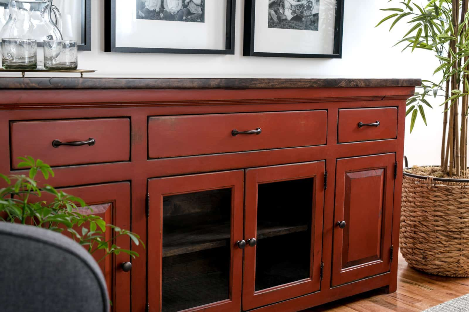 Unruh's sturdy Westport Sideboard fits in any room