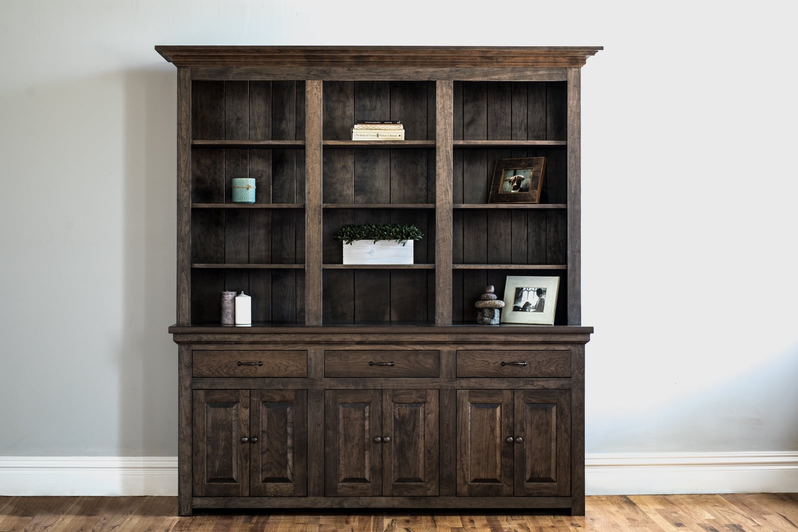 traditional custom hutch