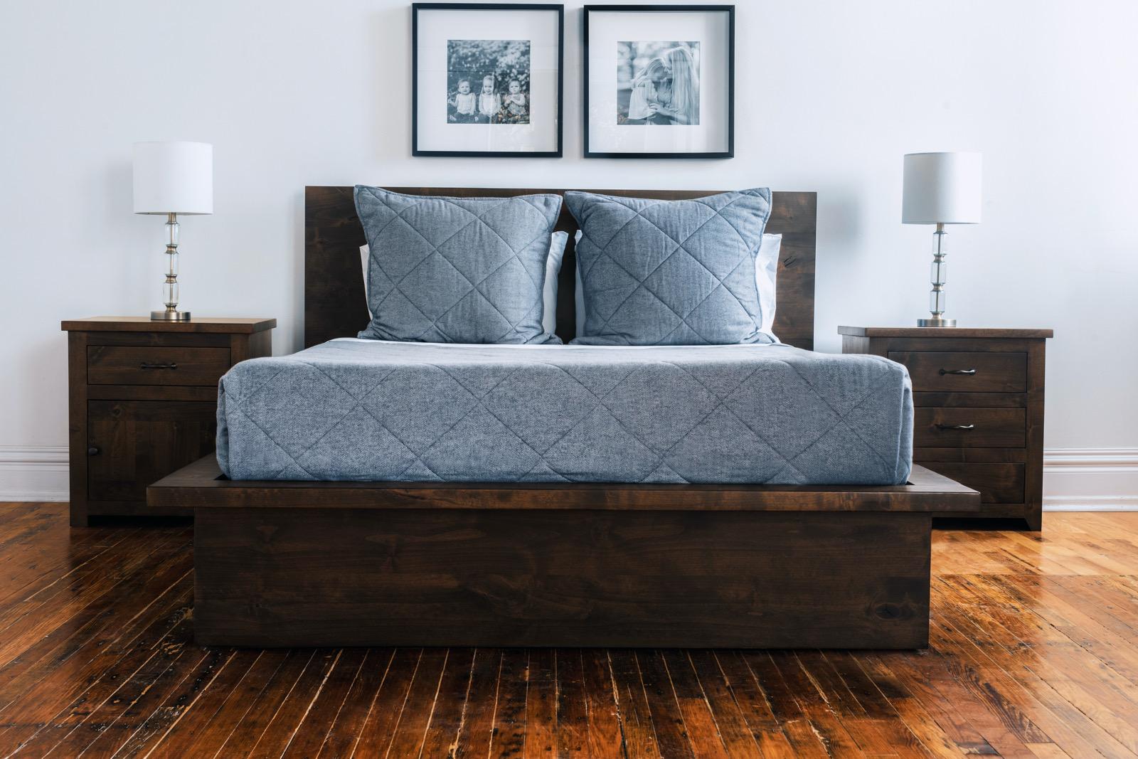 Lake House Platform Bed
