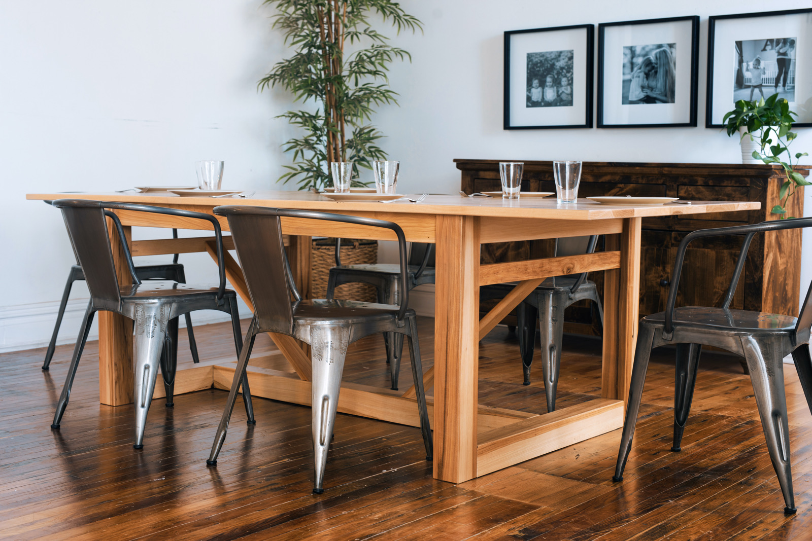 Barnyard Wood Dining Table