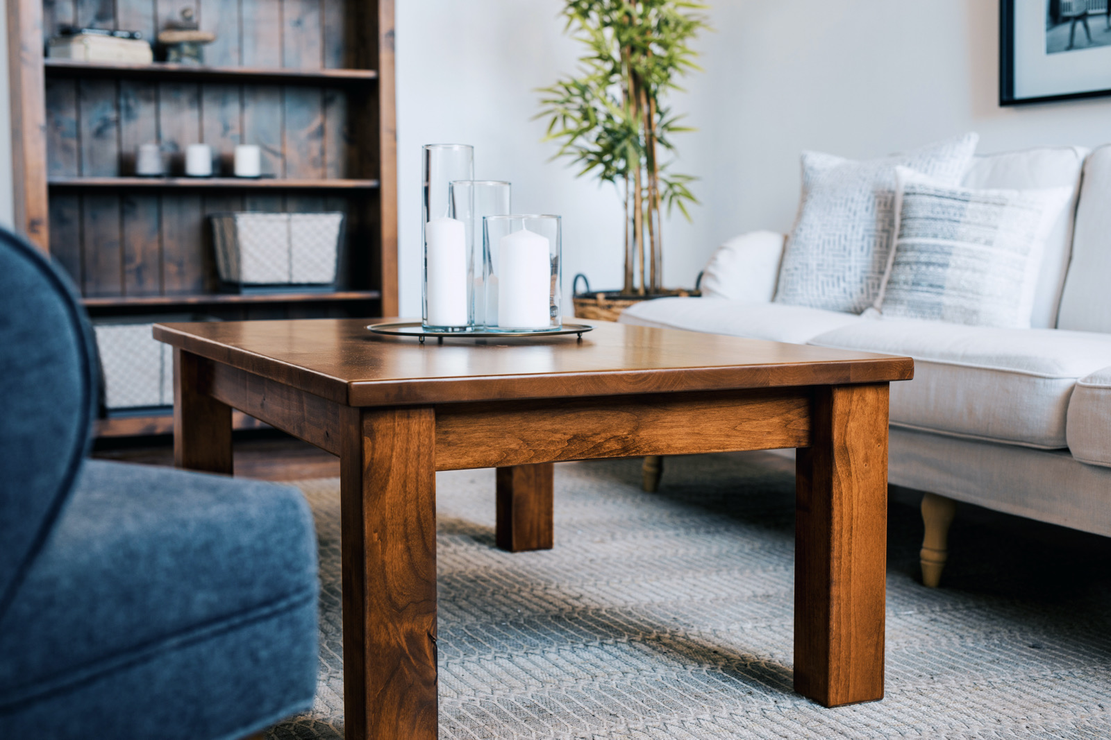 Wood Coffee Table for Dining Room Sets