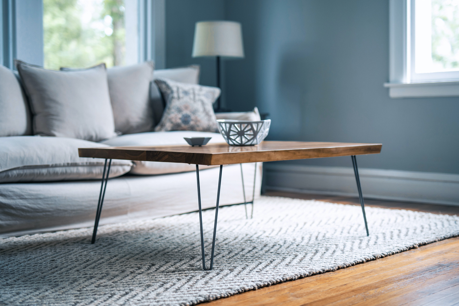 Wood Furniture: The Dearborn Coffee Table