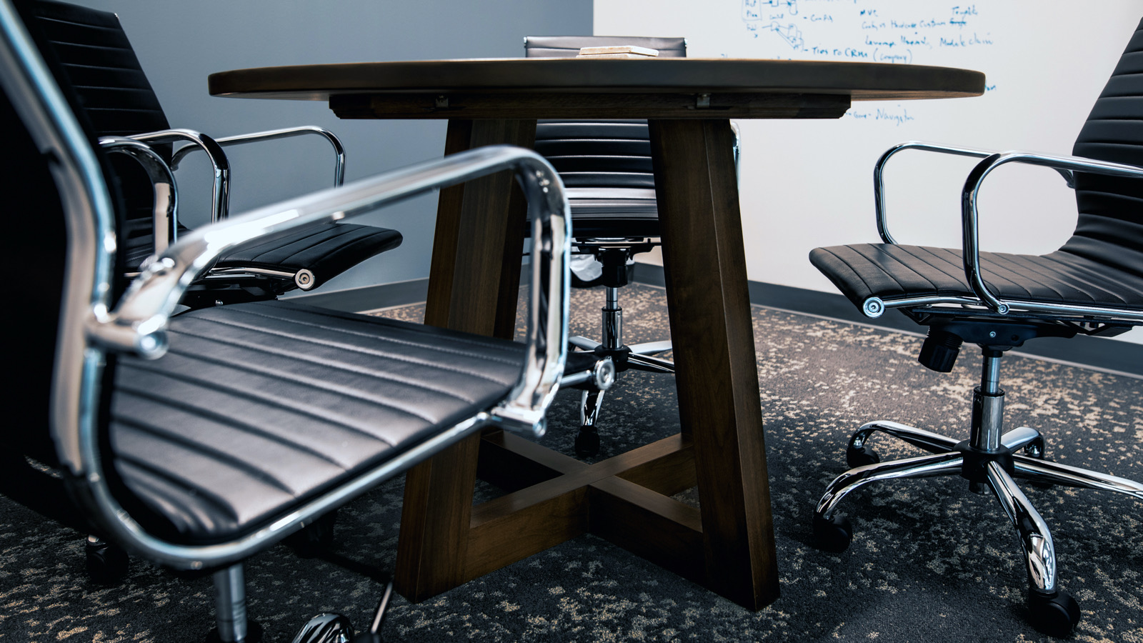 The Ward Round Table: Company Office Furniture