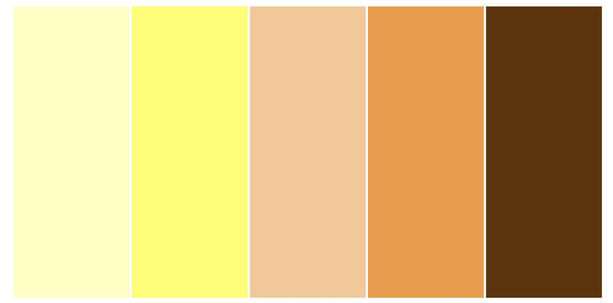 Unruh Furniture Yellow Palette