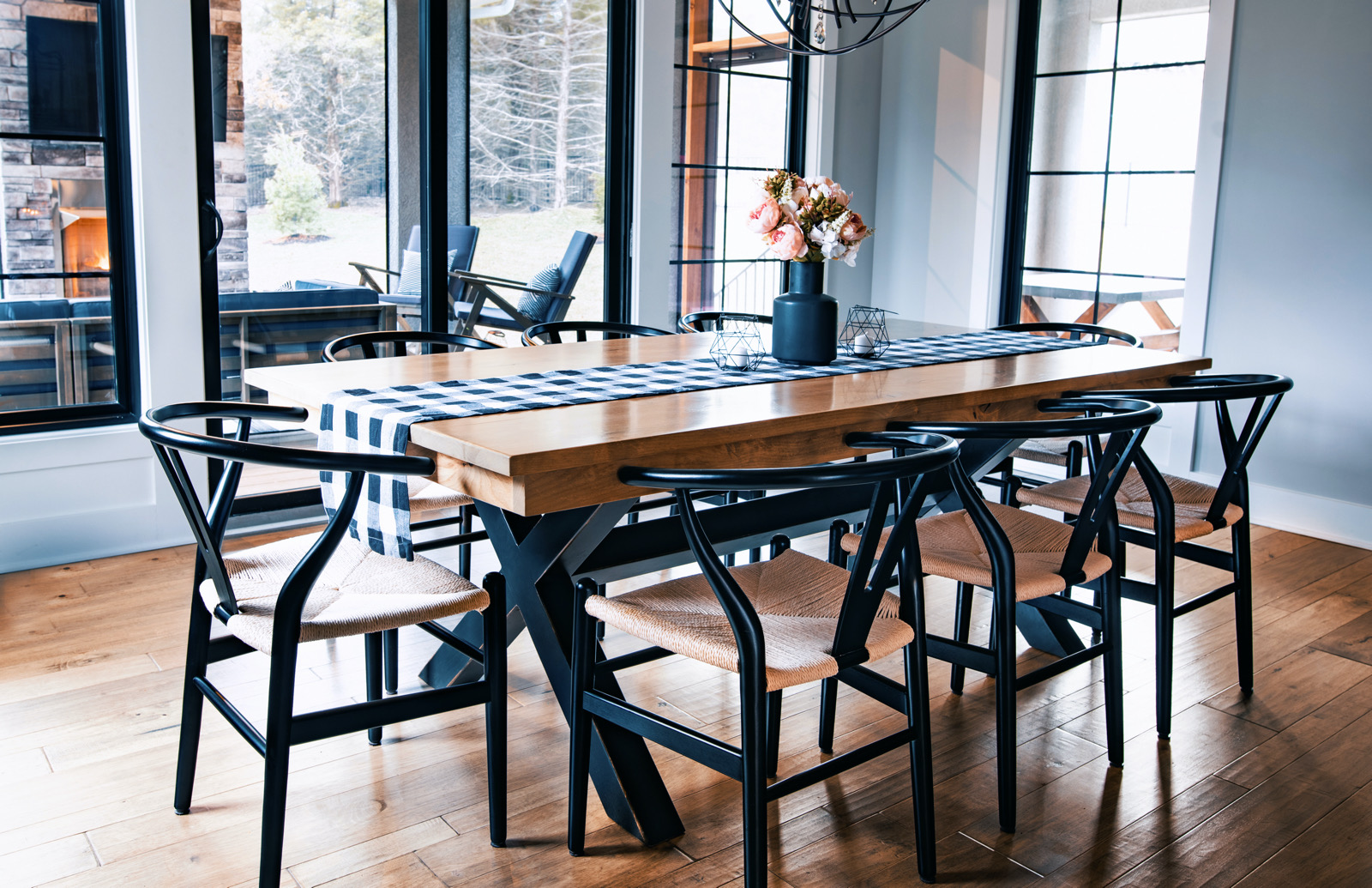 Wooden Tables for Transitional Design